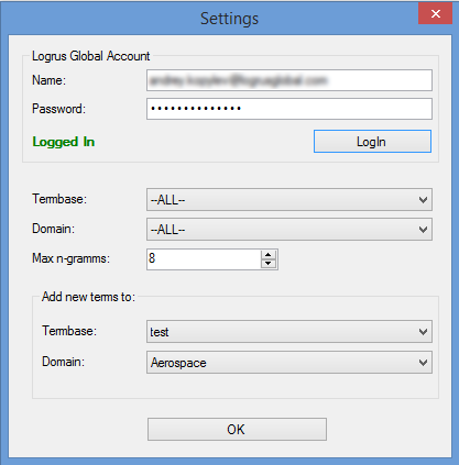 TermLode plug-in connects SDL Trados Studio to the Logrus